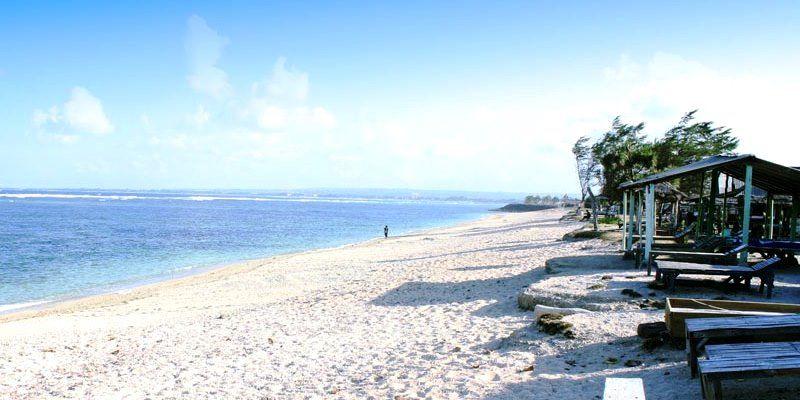 Пляж Серанган на острове Бали