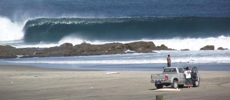 Серфинг волны. Lima