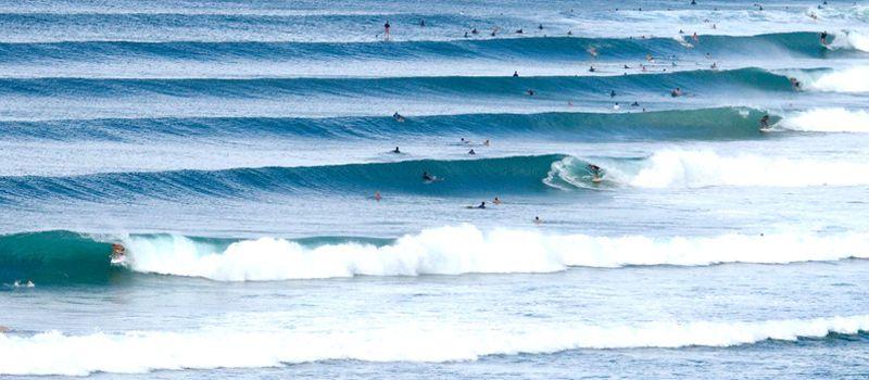 Серфинг волны. Superbank