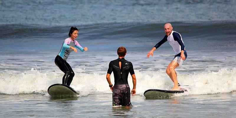 Отзывы о серфинге на Бали. Серж Горелый Comedy Club